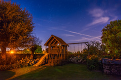 Childhood under the stars (paulius.malinovskis) Tags: sony summer belgium belgica beautiful home stargaze clear sky night childhood house