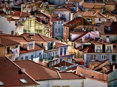 Alfama Rooftops (Artypixall) Tags: portugal lisbon alfamadistrict roofs buildings urbanscene faa getty