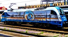 Mnchen - Prag - Mnchen (Miradortigre) Tags: train locomotora eurosprinter locomotive deutschland     germania allemagne bavaria