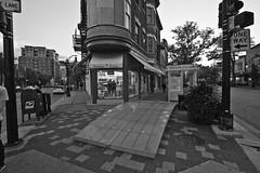266/366 (local paparazzi (isthmusportrait.com)) Tags: 366project canon5dmarkii tokina1628f28 zoom lopaps pod 2016 iso3200 noise grain lowlight redskyrocketman localpaparazzi isthmusportrait tokina 1628 f28 black white contrast blackandwhite blanco negro bw blancoynegro isthmus street sidewalk wtf madisonwi danecountywisconsin shadows busstop missing interesting 16mm wide wideangle streetphotography jambajuice statestreet downtown campus