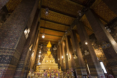 Antique Faith @ Wat Pho (tapanuth) Tags: bangkok thailand temple wat pho reclining buddha buddhism gold ancient antique faith belief spiritual interior painting art artistic image statue sculpture old rattanakosin monastery design asia religion city capital siam
