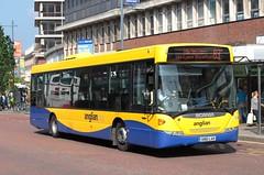 Scania Omnilink (DennisDartSLF) Tags: norwich bus scania omnilink 455 anglianbus an61lan