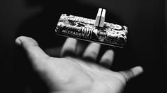Sleight of hand (KurteeQue) Tags: blackwhite ad hand fremont california mixfader floating dj scratch