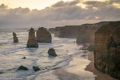 The twelve apostles (geravillag) Tags: apostles beach victoria australia sunset warm splittone sea winter canon eos750d rebelt6i t6i