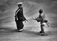 Tread Carefully (Rekishi no Tabi) Tags: samurai diorama bunkyohistorymuseum hongo bunkyoku japan edoperiod edo tokyo