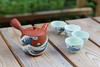 Beautiful Japanese tea set (Obubu Tea Farms) Tags: teaware teaset kyusu teacups teaparty japanesetea greentea green tea japan kyoto wazuka