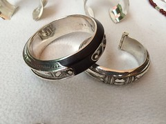 IMG_0323 (Tuareg Jewelry) Tags: tuareg jewelry jewellery finesilver silver ebony bracelets tuaregjewelry tuaregjewellery