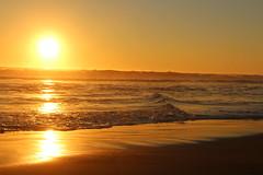 Beach (pochosilvao) Tags: playa beach pichilemu nature agua atardecer puestadesol naranja colores sur sun sol mar sea reflejo a afternoon orilla cielo paisaje ocano lago costa naturaleza