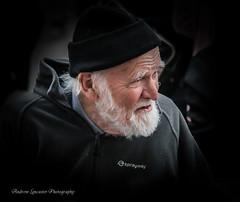 The Fisherman (Andrew Lancaster photography) Tags: man people portrait men fishermen beard old face work