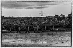Tamar estuary rail bridge (wilstony1) Tags: river tributary estuary tamar bridge rail train line canon 650d rebel t4i
