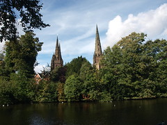 Lichfield, England (Nigel Swales) Tags: lichfield england uk britain cathedral cathedrals staffordshire