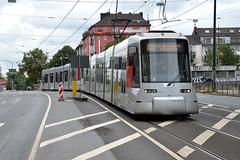 Rheinbahn 3341 [Dusseldorf tram] (Howard_Pulling) Tags: dusseldorf tram august 2016