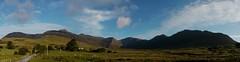 The Glencoaghan horseshoe (Mumbles Head) Tags: ireland eire connemara galway twelvebens benletteryhorseshoe mayo glencoaghan gleannchochan mountains horseshoe thetwelvebens twelvepins
