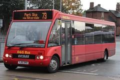 D&G Bus Optare Solo 138 (YJ55 BHO) (john-s-91) Tags: dgbus optaresolo 138 yj55bho newcastleunderlyme potteriesroute73