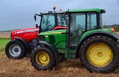 (Zak355) Tags: butevintageclub ploughing ploughingmatch kingarth bute rothesay isleofbute scotland scottish tractors farming farm vintagetractors masseyferguson johndeere