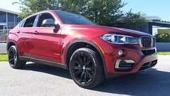 BMW X6 XDrive 3.5i (Michel Curi) Tags: tampa tampabay davisisland fl florida lovefl dupontregistry carsandcoffee peterknightairport red bmw x6 cars auto automobile coches vehculos vehicle automvil carros car voiture automobiel transportation transport