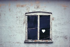 Poperinge (Luc Herman) Tags: love window heart heartwindow poperinge abandoned house flanders travel building forgotten