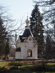 P4170055 (Helgi Hvitabjorn) Tags: helgihvitabjorn olympus cathedral church plants sky chapel nizhnynovgorod
