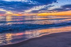 Before Sunrise (satochappy) Tags: goldcoast queensland qld australia ocean sunrise dawn waves beach sand clouds sky