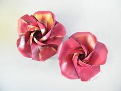 Rosa - Yara Yagi (Rui.Roda) Tags: origami papiroflexia papierfalten rose rosa yara yagi