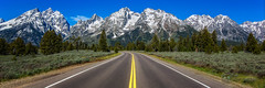 Eyes on the Road (Theaterwiz) Tags: grandtetons roadshot theaterwiz michaelcriswellphotography wyoming moosewyoming jacksonhole openroad tetonrange mountains