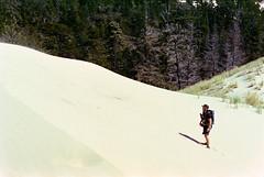 Me - John Dellenbeck Dunes Trail, Oregon (A Screaming Comes Across the Sky) Tags: portland oregon film analog analogue 35mm pentax smc takumar kodak emulsion architecture portra 400