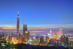 IMG_3671_2_3_tonemapped (Cookie Chang X ) Tags:                    taiwan taipei skyline canon    101 6d