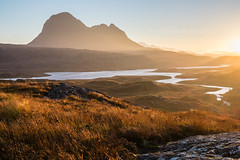 Assynt in Autumn (Tom_Drysdale) Tags: autumn october wester pollaidh bronze 2016 westerross fujifilm light loch assynt lochiver fionn river ross suilven kirkaig fuji drum