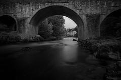 Skippers Bridge.. (CAMRA Man ...) Tags: langholm scotland scottishborders skippersbridge mono blackandwhite longexposure leebigstopper ndgrad manfrotto bridge riveresk riverbank