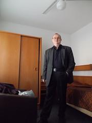 Ich (schremser) Tags: deutschlan berlin ich me anzug hotel hotelzimmer