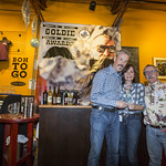 2016 Goldie Awards - Hugh presenting the Long Term President's Award to Richard Prokopanko...accepting on his behalf are Kathy and Bruce