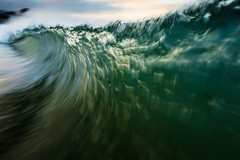Luminance (oreonphotography) Tags: wave light waterandlight water ocean green sea waveporn nature color luminance backlit california socal la malibu