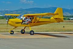 Kitfox Series 6 N4008H (skyhawkpc) Tags: copyright allrightsreserved gverver airshow nikon longmontairportexpo 2016 vancebrandmunicipalairport longmont co klmo lmo aviation kitfox series6 s60001013 n4008h