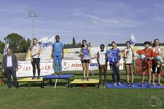 Maria Virginia Puntaroni per la premiazione dei 100m