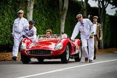 Ernst Schuster and Christoph Rendlen - 1957 Ferrari 500 TRC Spider Scaglietti at the 2016 Goodwood Revival (Photo 2) (Dave Adams Automotive Images) Tags: 2016 9thto11th autosport car cars circuit daai daveadams daveadamsautomotiveimages grrc glover goodwood goodwoodrevival hscc historicsportscarclub iamnikon lavant motorrace motorracing motorsport nikkor nikon period racing revival september sussex track vscc vintage vintagesportscarclub davedaaicouk wwwdaaicouk ernstschuster christophrendlen 1957ferrari500trcspiderscaglietti 1957ferrari500trc 500trc 1957 ferrari 500 trc spider scaglietti red 0660mdtr