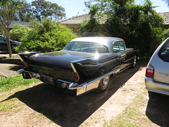 1957 Cadillac Eldorado (RS 1990) Tags: adelaide southaustralia thursday 13th october 2016 1957cadillac eldorado car rare american import black uncommon wrightrd modbury teatreegully