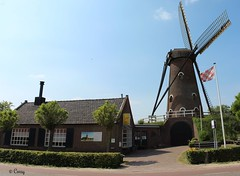 "Luijksgestel: Mill ""The Border Guard"" and Bakery-Museum. ( Corry ) Tags: bakery museum mill molen architecture"