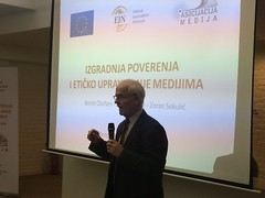 Building Trust Through Ethical Media Governance in Serbia (Ethical Journalism Network) Tags: serbia media journalism ethics ejn