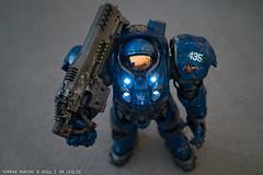 Terran Marine (I AM LESLIE) Tags: toy robot mecha 7rm2 figure actionfigure starcraft terran marine
