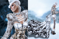 Winter Goodbye Couture (Wicca Merlin) Tags: new woman news art fashion pose hair blog 3d clothing model photographer modeling avatar formal style jewelry mandala blogger sl secondlife couture modelpose formalattire highfashion newrelease kookie lwl virtualworld ddx tresbeau newreleases modelposes femaleclothing ladieswholaunch slfashion 3dpeople leezu slclothing hautemagazine slstyle modelingpose modelingposes silkenmoon fashionposes wiccamerlin lovelymiwako7399menna femalewear metavirtual fashioninpixels xenshats nvcorsetry