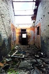 Don't go that way (Sp1llage) Tags: cameraphone abandoned derelict urbex singlejpghdr