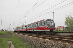 PR EN57-2056 , Jezierzany train station 30.04.2013 (szogun000) Tags: railroad station electric set train canon tren poland polska rail railway spot commuter emu pr passenger trem treno ezt regio pkp pocig  lowersilesia dolnolskie dolnylsk en57 przewozyregionalne canoneos550d canonefs18135mmf3556is en572056 d29275 jezierzany