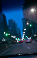 City lights (bavan.prashant) Tags: blue chicago kodak 400 april 17 canonet giii f17 ql 2013 potra