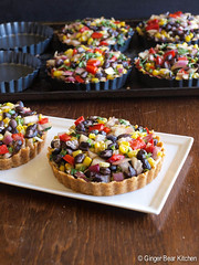 Cinco de Mayo Black Bean Tart