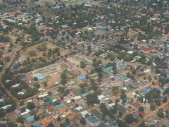 Juba from the air (vincentello) Tags: south sudan juba sudsoudan