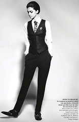 Fashion (bof352000) Tags: woman fashion shirt costume femme tie class suit mode necktie elegance cravate strict chemise businesswoman affaire