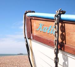 Katie (ekaterina alexander) Tags: sea england seascape sussex coast boat fishing view katie shoreline shore coastline alexander ekaterina