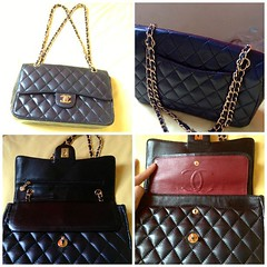 """กระเป๋า Chanel Jumbo Quilted 13""""  รุ่น อั้ม พัชราภา ราคาเบา ๆ สนใจ Line ID : duney66"""