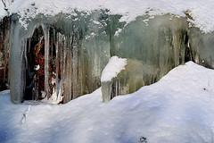 Wand aus Eis (Godwi_) Tags: schnee winter norway norwegen eis eiszapfen vesterålen kälte eiswand rememberthatmomentlevel1