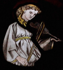 St Oswald, Durham (davewebster14) Tags: church angel stainedglass williammorris morrisco stoswalddurham